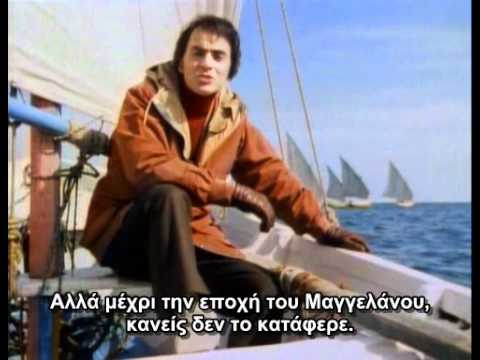 Carl Sagan's Cosmos Episode 1:The Shores Of The Cosmic Ocean (greek subs)
