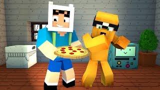 Minecraft: HORA DE AVENTURA MELHOR PEGADINHA!