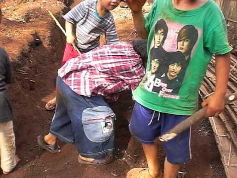 Kids in Nopho Refugee Camp in Thailand