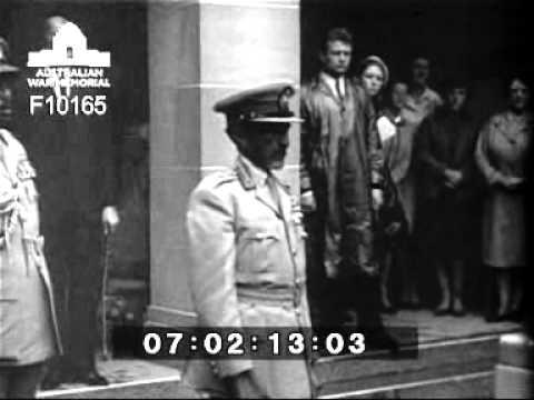 Emperor Haile Selassie, Visit to the Australian War Memorial - 14 May 1968