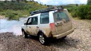 LR3 Land Rover Discovery 3 Offroading In 4x4 4wd 1st