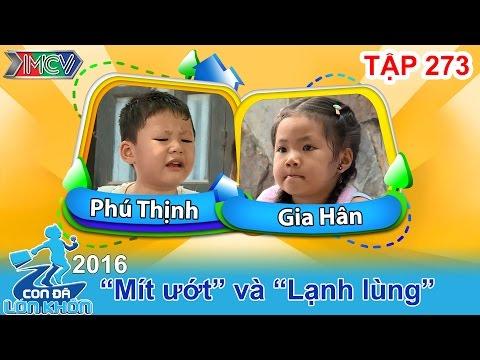 Phát sốt với cô bé 4 tuổi khuyên anh trai đừng khóc nhè | CON ĐÃ LỚN KHÔN | Tập 273 | 22/10/2016