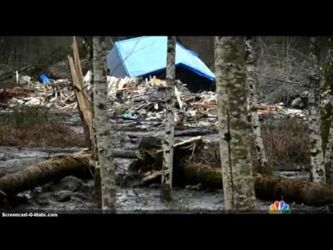 Washington Mudslide Death Toll - 8