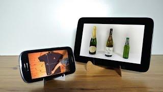 Tips Keren Cara membuat dudukan untuk Smartphone atau tablet kamu dengan bahan sederhana