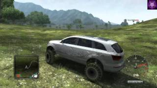 Test Drive Unlimited 2 (TDU2) Trainer Q7 Monster Truck