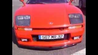 Supercar in Nogaro vol 1 : Ferrari F50 and Venturi 400 GT