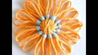 Flower Looms Back Stitch Centre