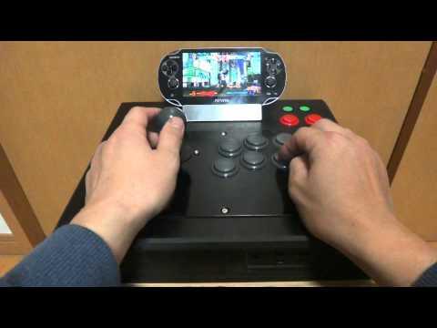 Играем на PSVITA аркадным джойстиком в Street Fighter X Tekken