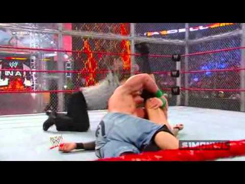 Randy Orton Vs John Cena Highlights - HD Hell In A Cell 2009
