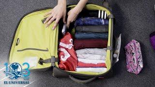 Cómo hacer la maleta a lo Marie Kondo