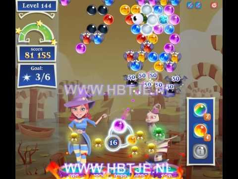 Bubble Witch Saga 2 level 144