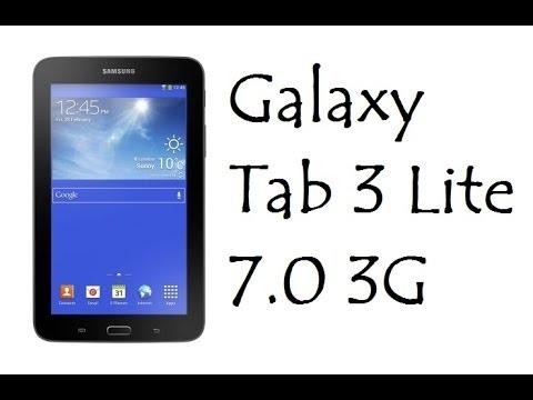 Galaxy Tab 3 Lite 7.0 3G / Características e Informações / DavidTecNew