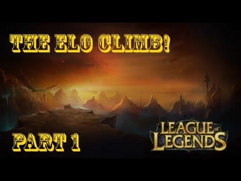 League of Legends-The solo queue climb. Part 1