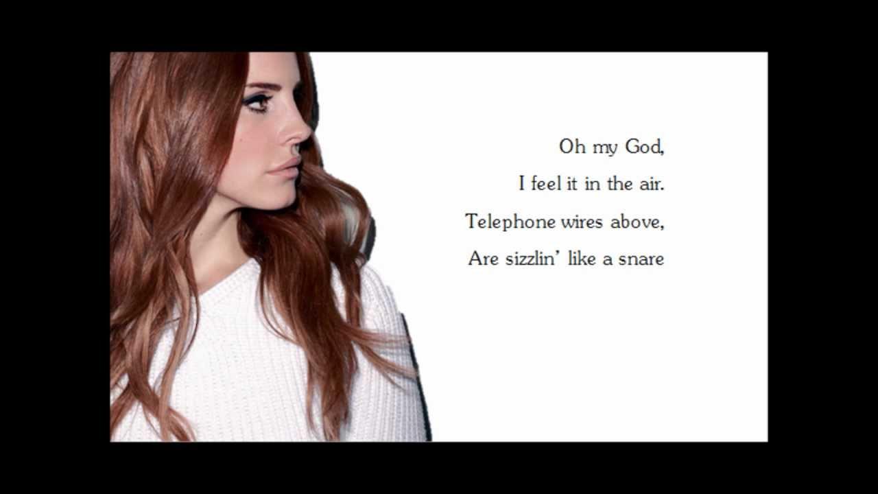 Lana Del Rey Lyrics Summertime Sadness | www.imgkid.com ... Lana Del Rey Background Lyrics