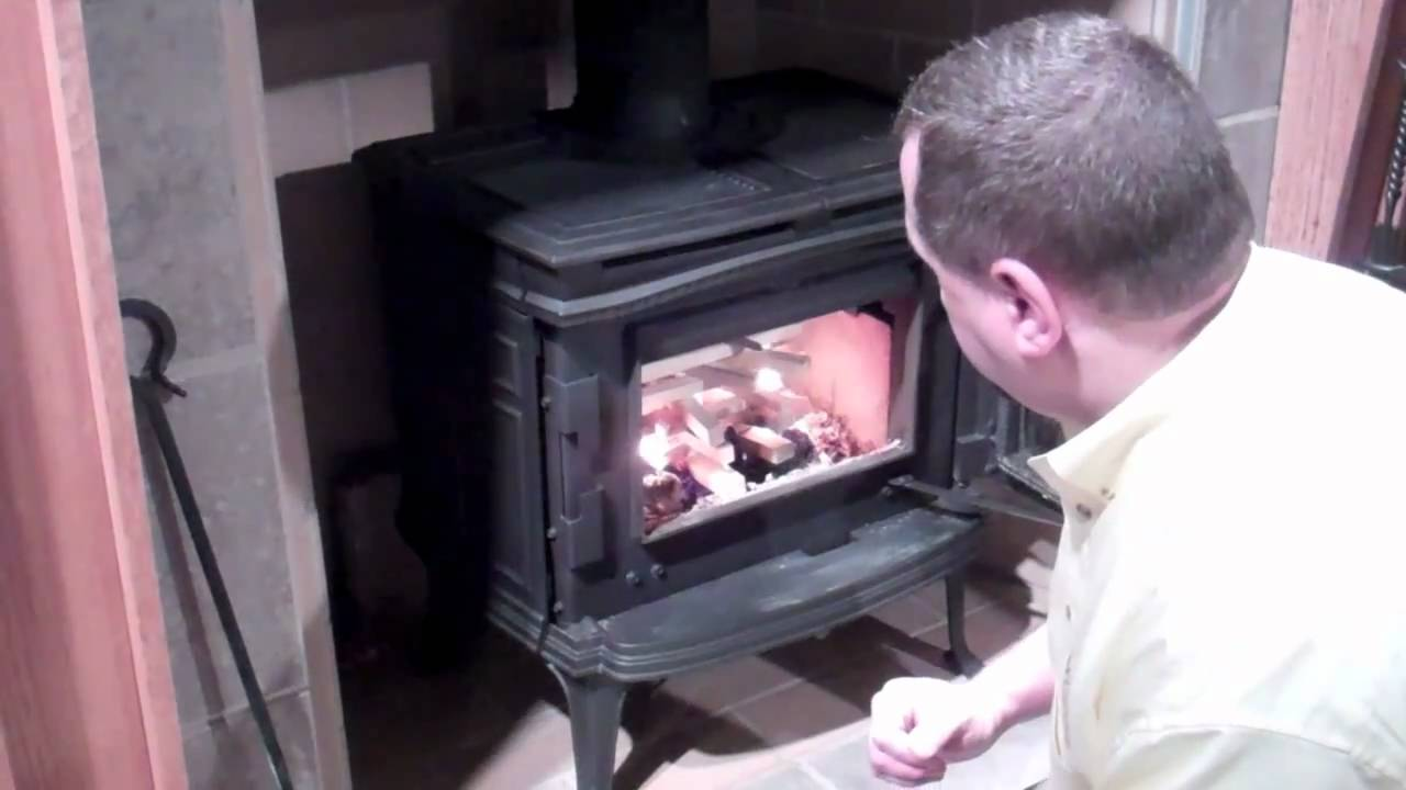 lighting your wood burning stove youtube. Black Bedroom Furniture Sets. Home Design Ideas