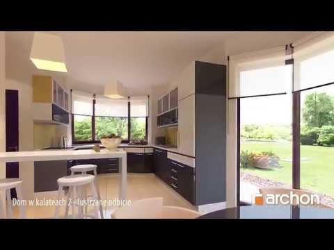 Dom w kalateach 2- lustrzane odbicie. Wirtualny spacer po wnętrzu, Projekt ARCHON+