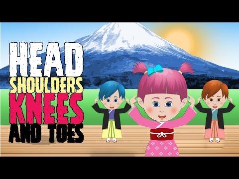 Head Shoulders Knees and Toes | Nhac Thieu Nhi Vui Nhon | Hoc Tieng Anh Qua Bai Hat