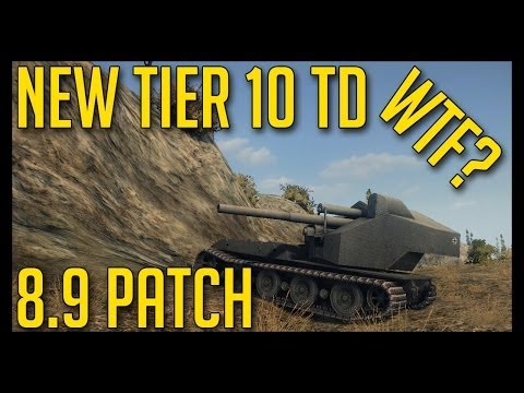 World of Tanks | 8.9 Patch - Waffenträger auf E-100 vs MAUS, New ...