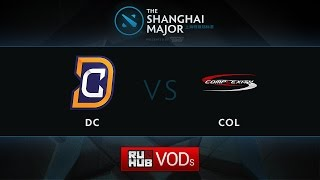 coL vs DC, Shanghai Major America Quali, Play-Off, Game 1
