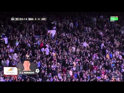 Real Madrid vs Levante 3-0 La Liga 9-3-2014