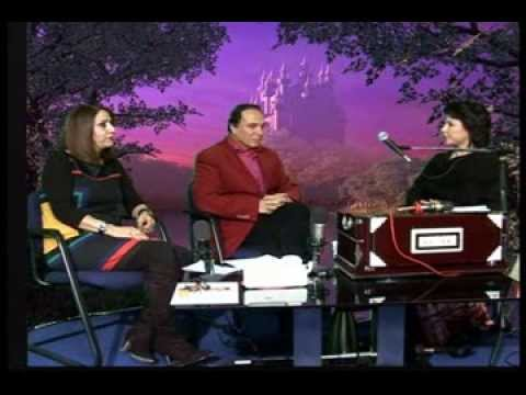 Naser Arian with Maria Avesta and Farida Hassansei -- Live Payame Afghan Tv 09.12.2013 --