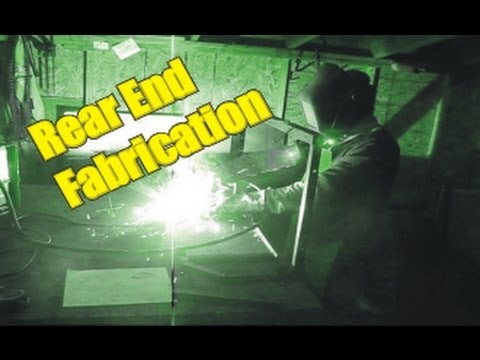Two Seater Go-Kart #1 ( Rear End Fabrication ) diy Homemade
