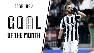 Juventus Goal of the Month - February 2018