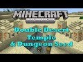 Minecraft Xbox TU14 - Double Desert Temple & Dungeon