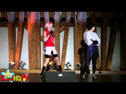 SAKURAS DEATH Dance @ AniNite'11 Cosplay contest (AniNite 2011)