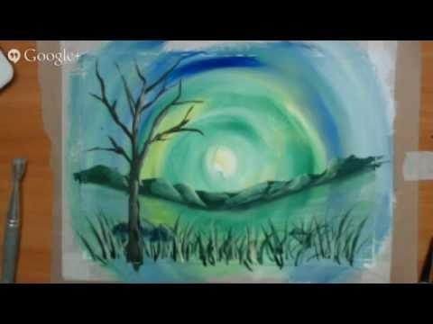 Уроки рисования гуашью для начинающих мастер класс