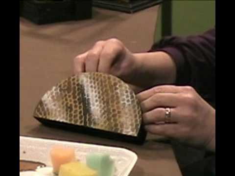 Manualidades en Madera - Imitación piel de culebra