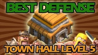 BEST Town Hall Level 5 Defense Strategy For Clash Of Clans
