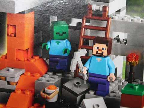LEGO Minecraft - The Cave Review [Set 21113]