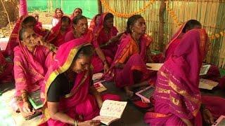 مدرسة جدات لمحو الأمية لدى النساء المسنات في الهند   |   قنوات أخرى