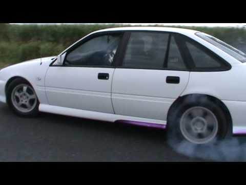 v6 supercharged commodore burnout