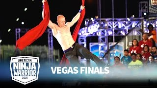 Kevin Bull at the Vegas Finals: Stage 1 | American Ninja Warrior