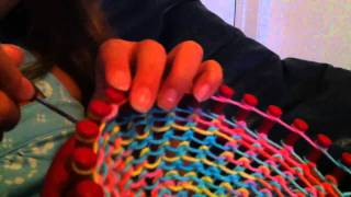 Loom Knitting A Hat