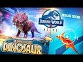 Hunting Our FIRST DINOSAUR In JURASSIC WORLD ALIVE