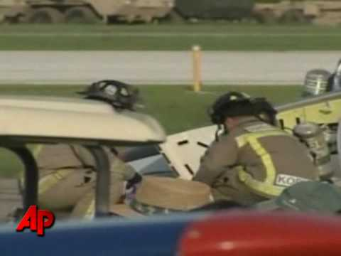 raw video nascar owner 39 s plane crashes youtube. Black Bedroom Furniture Sets. Home Design Ideas