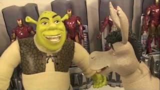 Shrek Forever After Smack Back Shrek & Donkey Talking