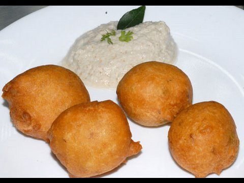 Mysore Bonda, Mysore Bajji Recipe is a hot favorite snack from traditional Mysore cuisine. The easy method for making Mysore Bajji and the yummy taste makes it loved by ...
