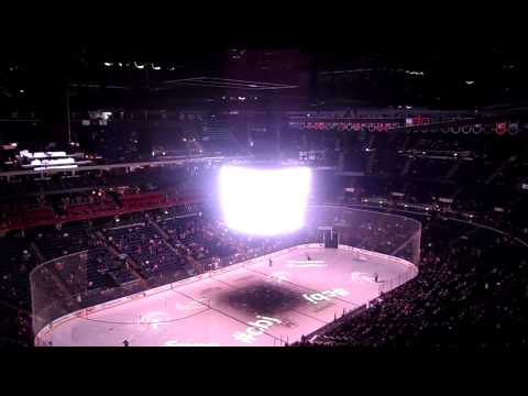 Columbus Blue Jackets vs. Minnesota Wild Holidays Introduction 12/7/2013