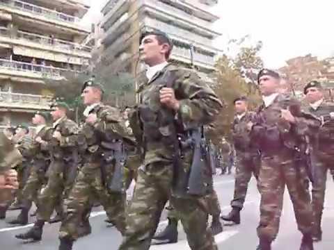 Καταδρομείς -  Παρέλαση 28-10-2014 θεσσαλονίκη