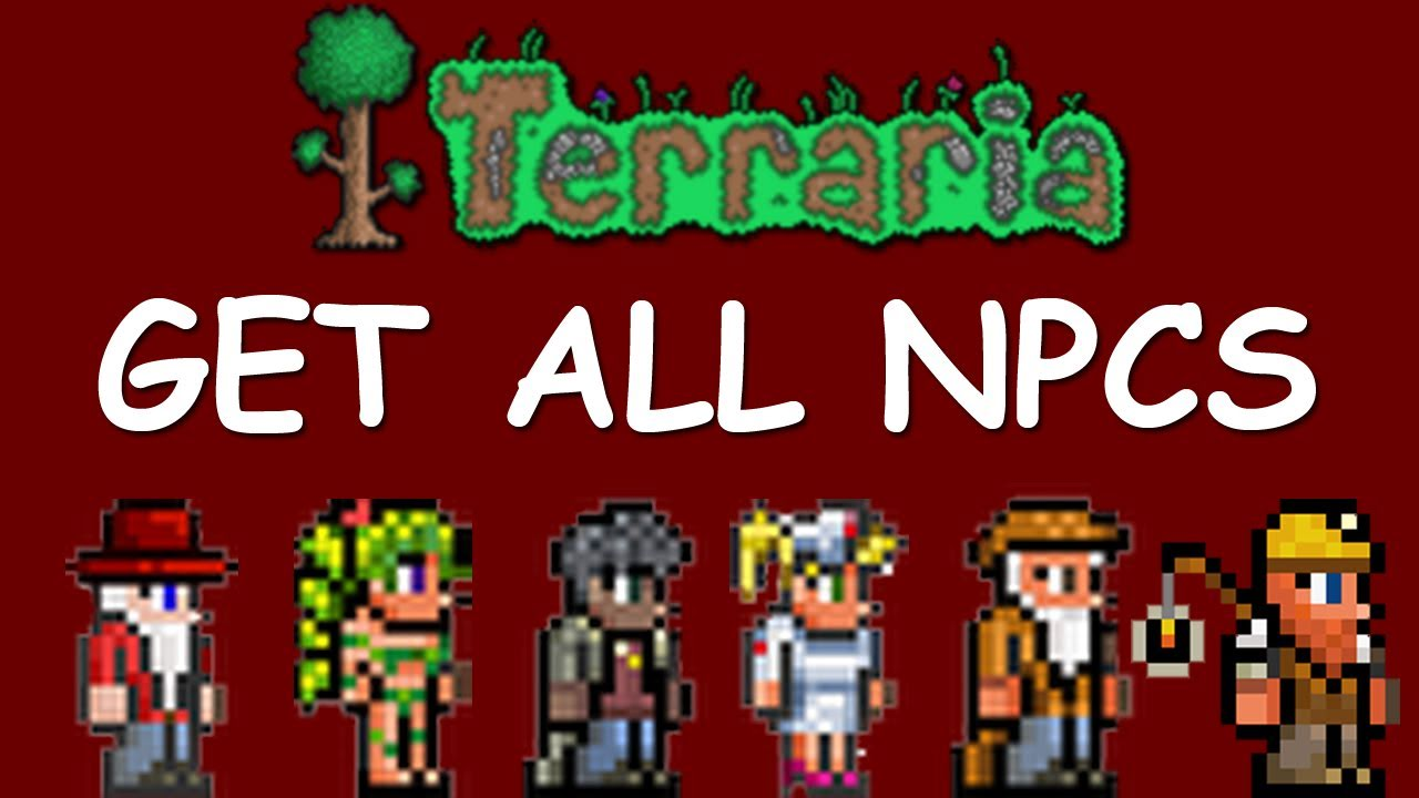 How to get npcs in terraria on android