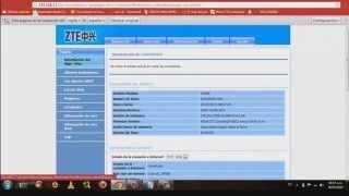 Configuracion De Un Router ZTE Modelo H108N