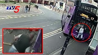 Shocking : Man Hits By Bus, Gets Up And Walks Straight Into Pub