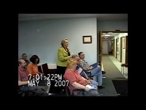 Champlain Town Board Meeting 5-9-07