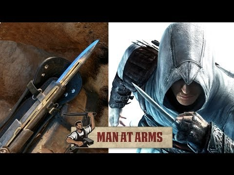Hidden Blade & Pirate Cutlass (Assassin's Creed 4) - MAN AT ARMS