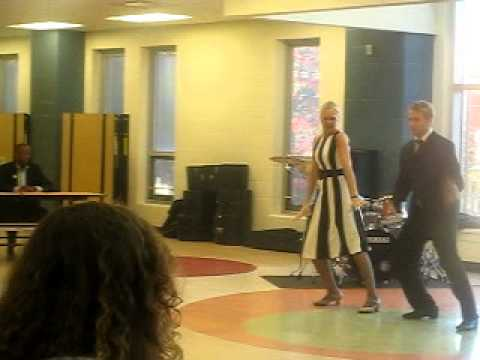 Math Teacher and Carlton Totten Tap dancing lol