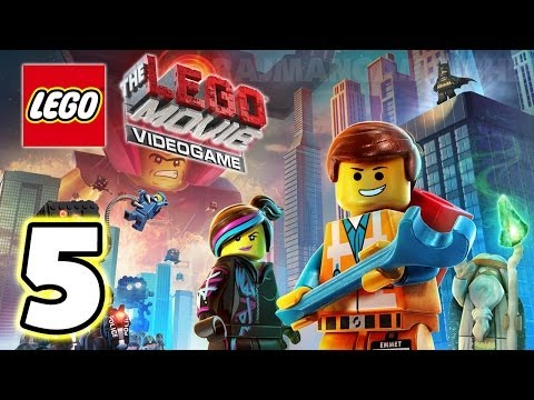 LEGO Movie Videogame Walkthrough PART 5 [PS3] Lets Play Gameplay TRUE-HD QUALITY